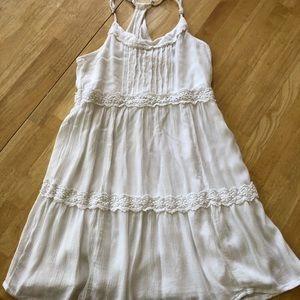 Hollister Off White Dress